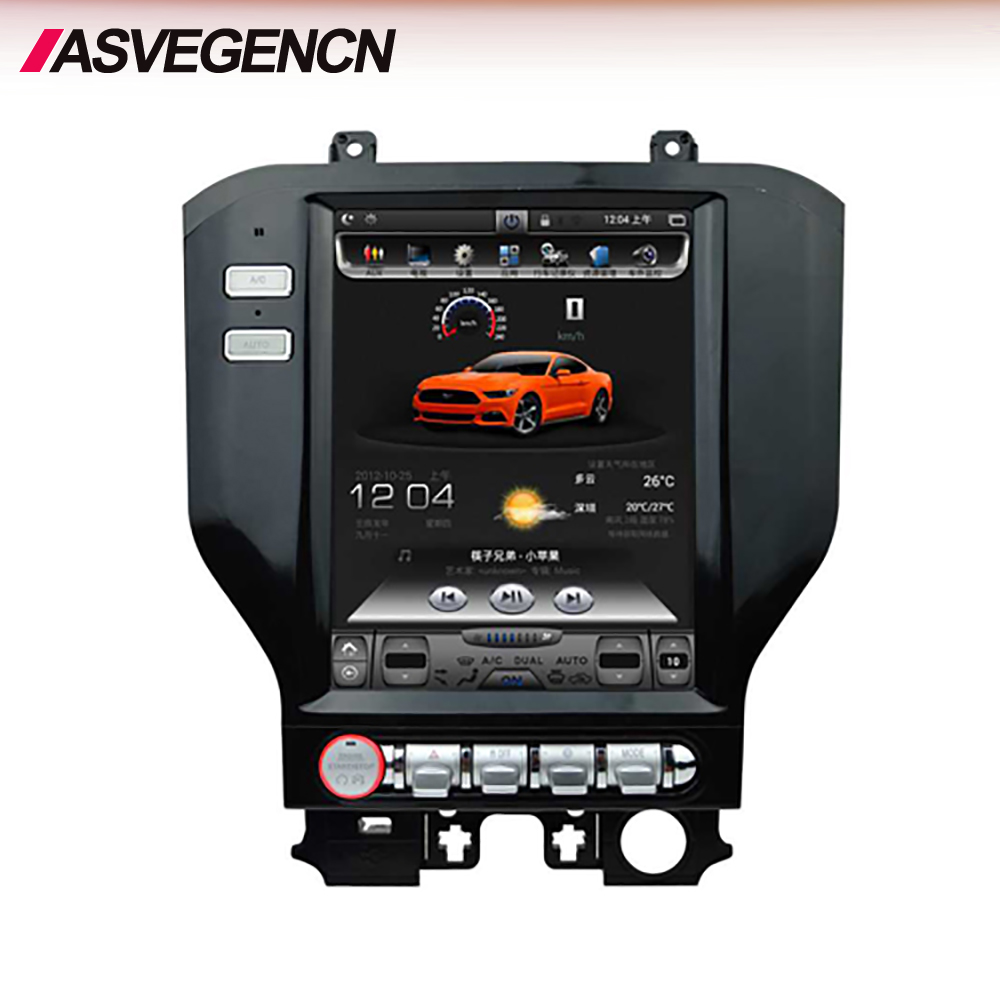 Wholesale New Android 10.4'' Screen Car Radio Stereo DVD Player for Ford Mustang 2014-2019 with Bluetooth WIFI BT GPS