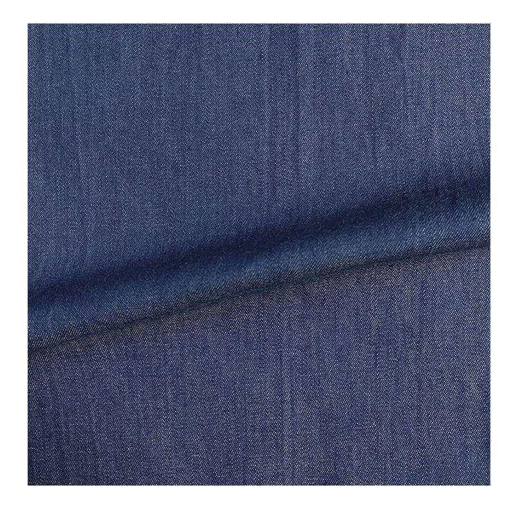 Harvest 100% cotton stock denim twill washed fabric for shirt