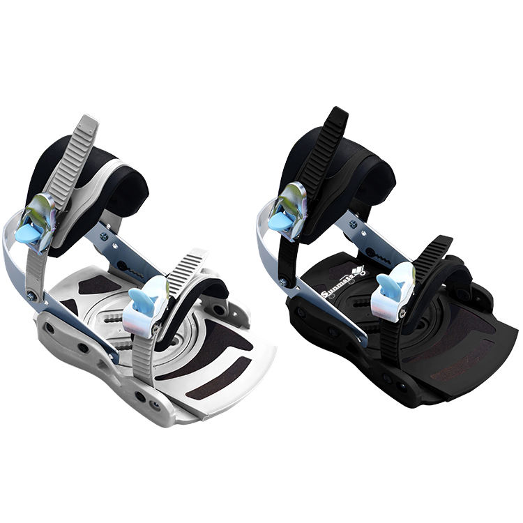 Factory low price adjustable customized freestyle special lightweight snowboard longboard ski bindings