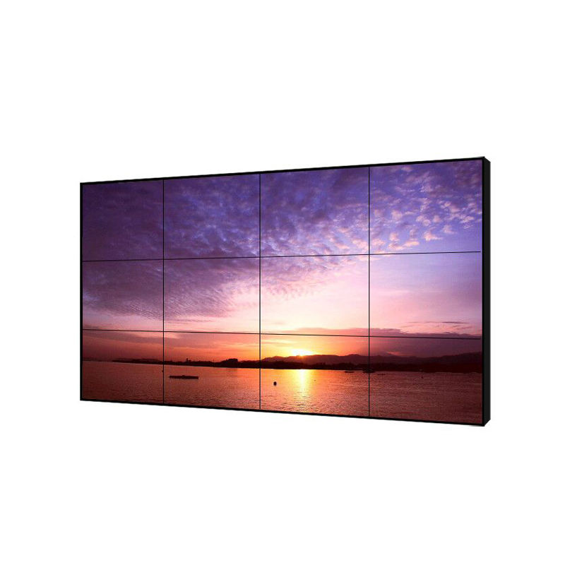2017 hot interactive advertising ultra narrow bezel 4k 55 inch ultra 3d play player 3x3 <span class=keywords><strong>lcd</strong></span> video wall system