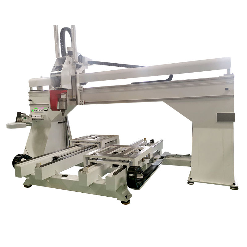 Fräsen CNC Maschine 5 Achsen Holz Schneiden Arc Oberfläche Carving Maschinen für Holz Adler Schnitzereien