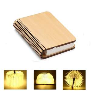 customized new product usb charge portable small led light book lamp
