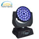 Hot selling led moving head wash light concert stage light for club 36pcs 12w 4in1 rgbw perfect zoom effect