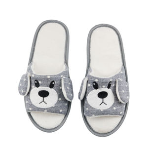 Newest Women Flat Slippers Women Cute animals Open Toe House indoor Slippers Shoes
