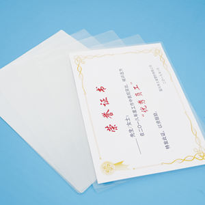 High Quality Waterproof Packing Material Menu Photo Thermal Stretch Glossy Laminating Pouch Film