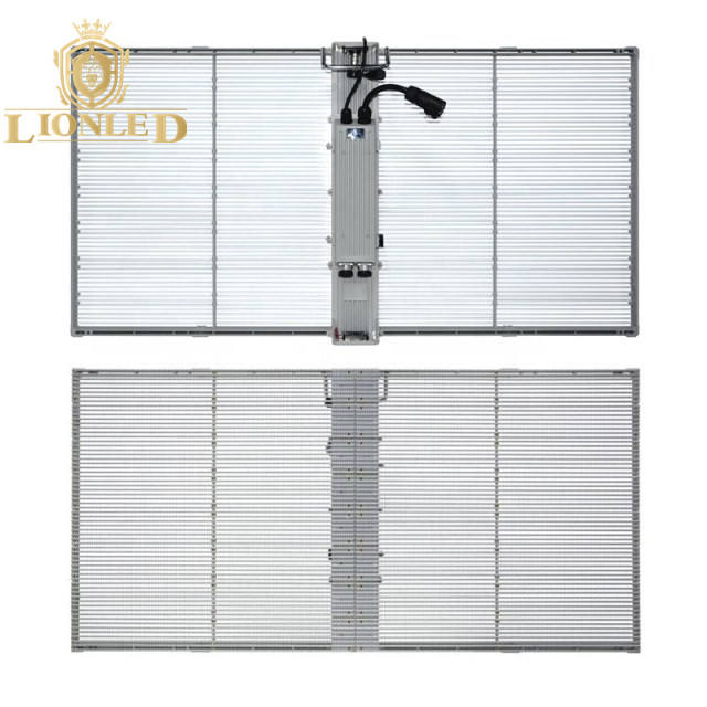 Lionled Shenzhen Outdoor High Brightness Transparent LED Display Screen for Video