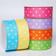 Single Face [ Printed Grosgrain Ribbon ] Grosgrainprinted Printing Grosgrain Ribbon Suppliers Personalized Custom Printed 1 1/2 38mm Single Face Grosgrain Ribbon With Polka Dots