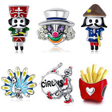 New arrival high quality 925 sterling silver jewelry charms for bracelet making
