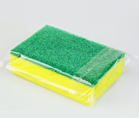Hot Selling Kitchen Cleaning sponge with scouring pad new types kitchen cleaning sponge