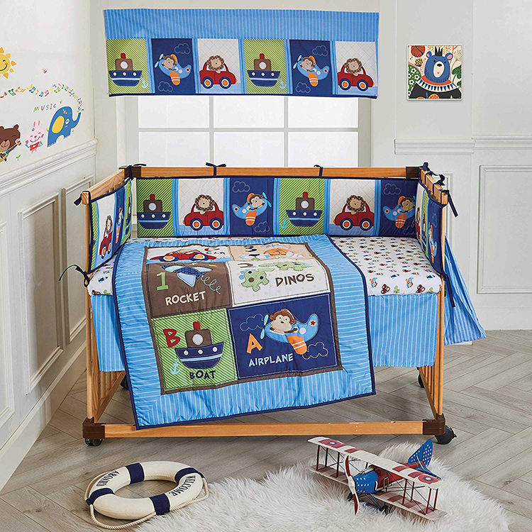 Soft Plush European Style Nursery Cradle Decor Newborn Gift Pillow ...