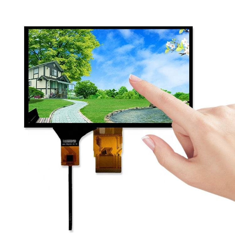Industrielle 7 zoll tft lcd i2c touchscreen display touch screen panel modul 7 zoll 1024x600 fpc stecker 50 pin raspberry pi