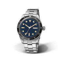 OEM Dive Watch Custom 316L Stainless Steel Case Ceramic Bezel Superluminova Automatic Diver Watch