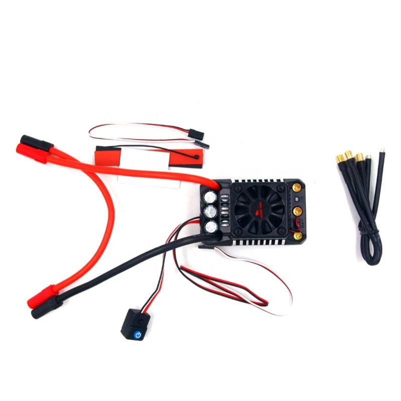 Leopard Hobby Ground WP BL5 200A ESC waterproof 34V (MAX5) 3-8S for rc 1/5 cars crawler buggy