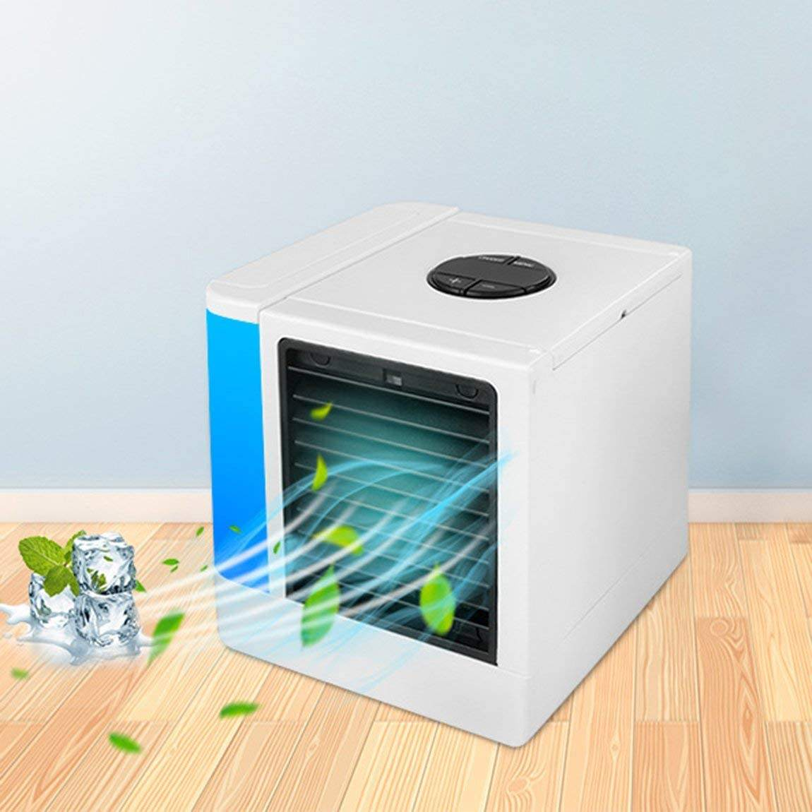Hot Deal [ Air Conditioner ] Portable Mini Air Cooler Air Conditioner Dehumidifier USB Triple Arctic Air Cooler