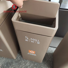garbage sorting trash can for shopping mall garbage trash cans stainless steel trash can