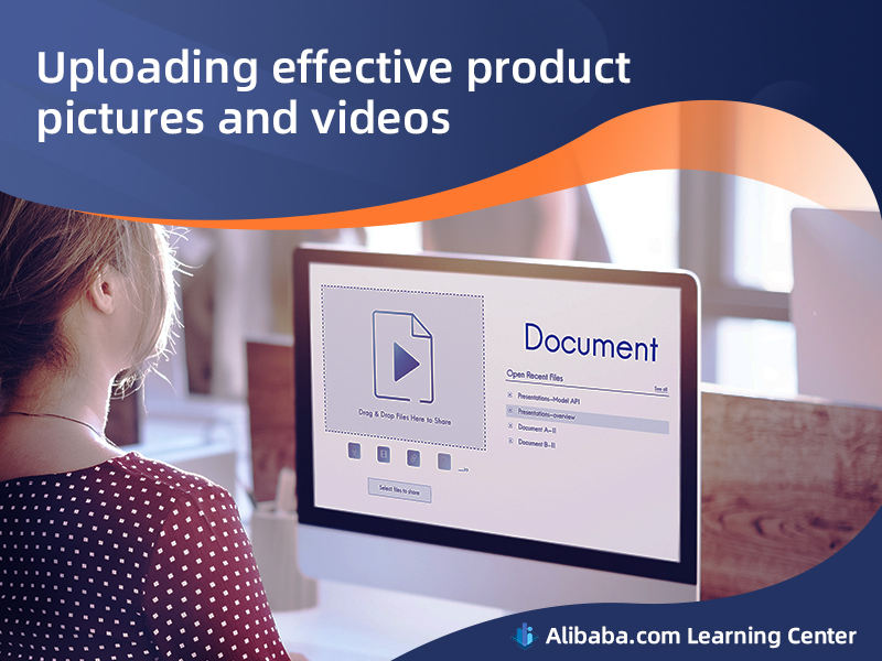 Uploading effective product pictures and videos