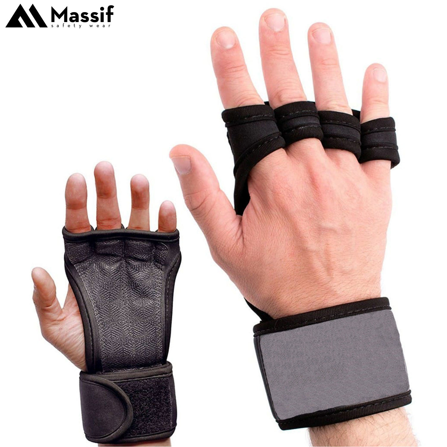 Amazon Best Selling Breathable Vented Wrist Protection Silicone Padded Workout Hand Protection Grips Ebay 2020 Version