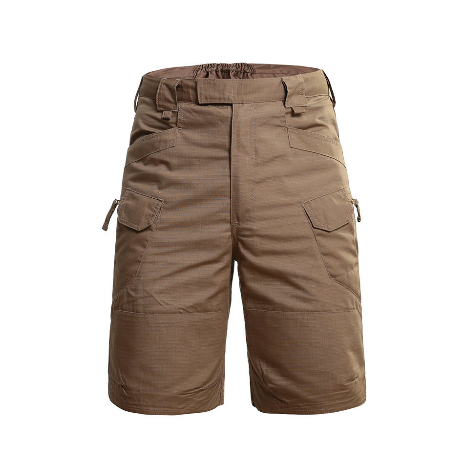 AVATAR dark khaki unisex outdoor cargo pants good quality police sheriff tactical shorts ready in stock for wholesale