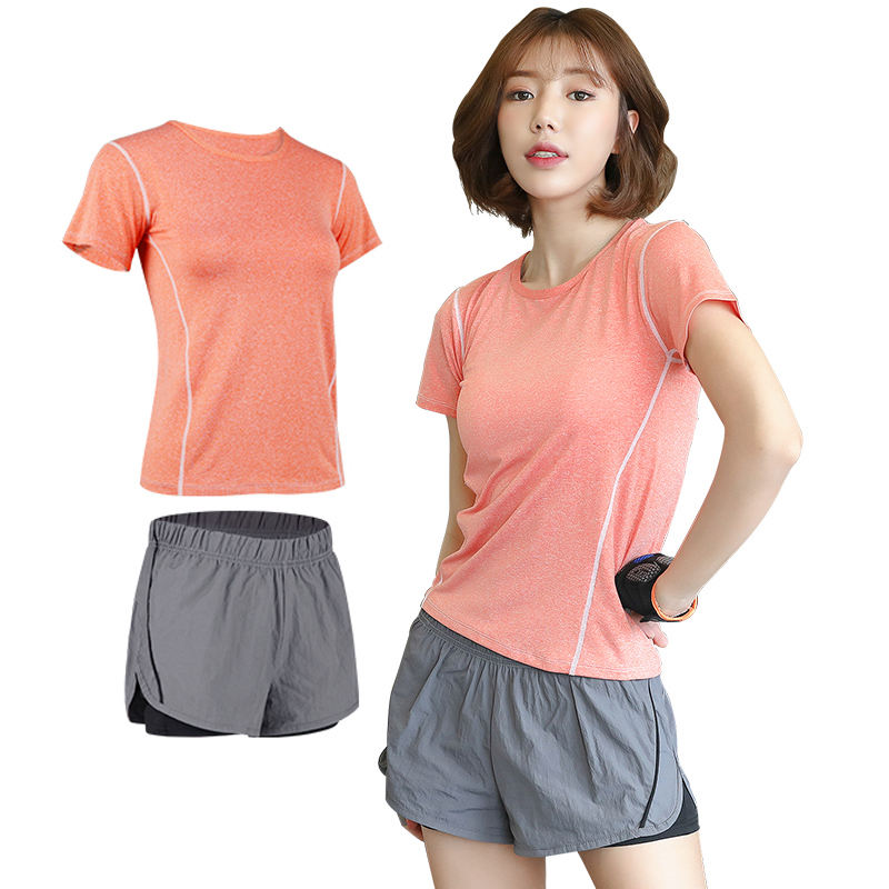 Two Piece Women Clothing Quick-Drying Women Fitness Gym Sports Yoga wear