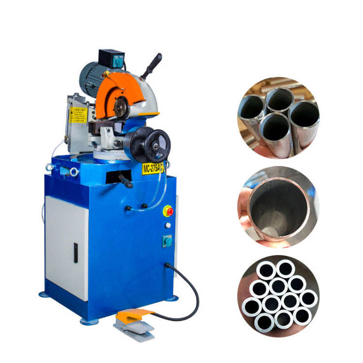 Economical Exhaust Stainless Steel Pipe Cutter Metal Cold Sawing Tube Pipe Cutting Machine