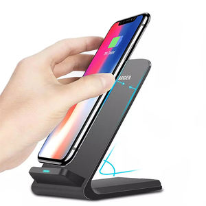 2020 new arrivals Amazon Anker 10w wireless charger stand, Type-C Qi-certified wireless charger for Galaxy S9 S10 for iPhone 11