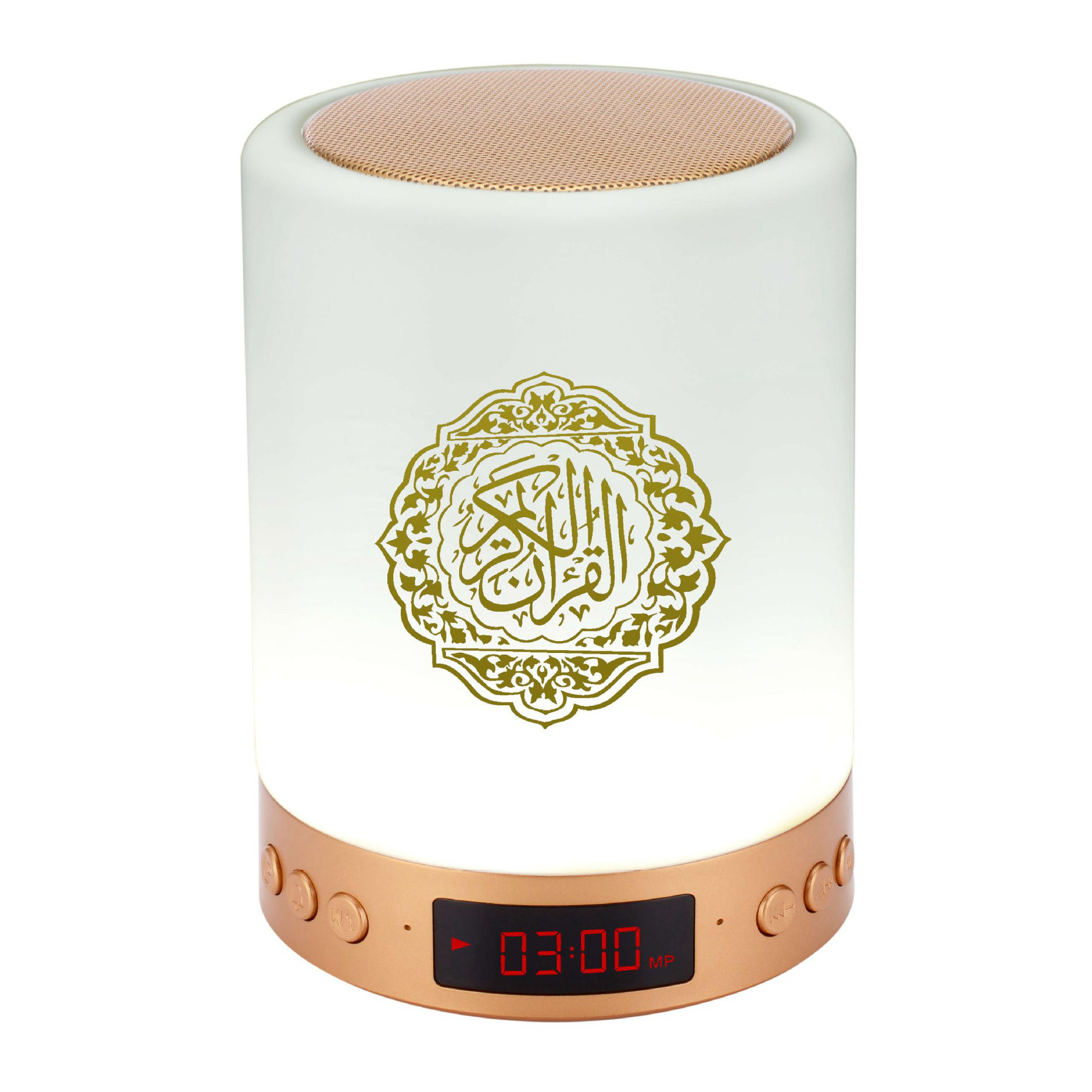Innoliance Portable Mini Muslim Warna-warni Malam Led Touch Lampu <span class=keywords><strong>Quran</strong></span> Speaker