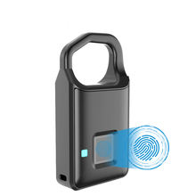OEM Acceptable USB Rechargeable Waterproof Keyless Safty Smart Padlocks/Smart Fingerprint pad lock