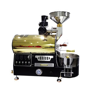 Yoshan Professional Probat Smart Small Gas Electric 6Kg 5Kg 3Kg 2Kg 1Kg Coffee Roaster For Home Commercial roasting machine Use