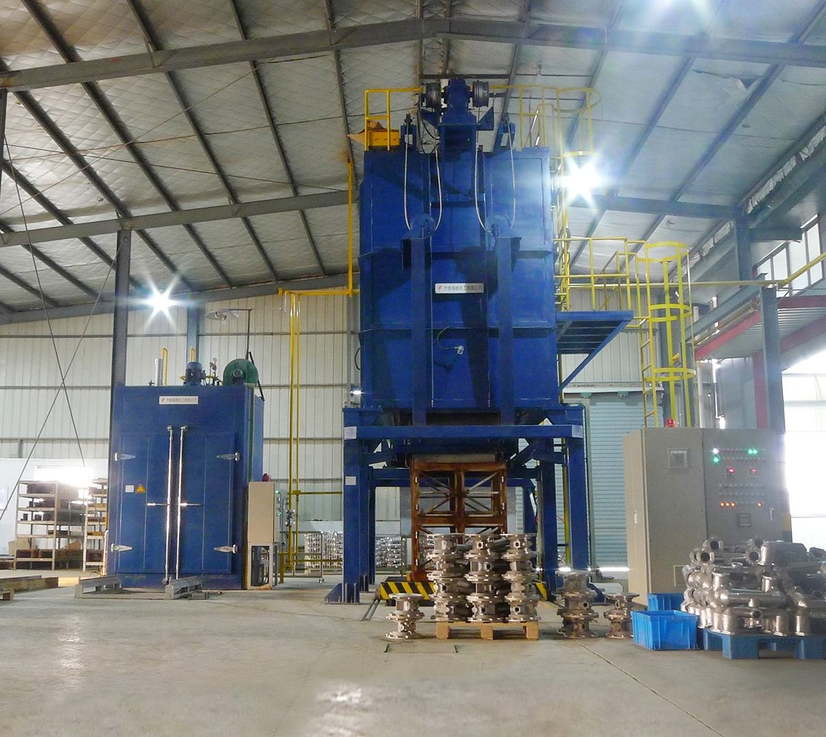 European Exported Gas Heating Aluminum Solution-hardening Furnace
