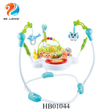 Hot sale Safety high quality happy jungle baby round jumper baby walker baby jumping chair with music and light