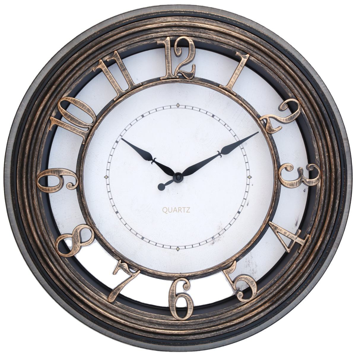 19Inch wooden quartz wall clock bulk handmade wall clocks