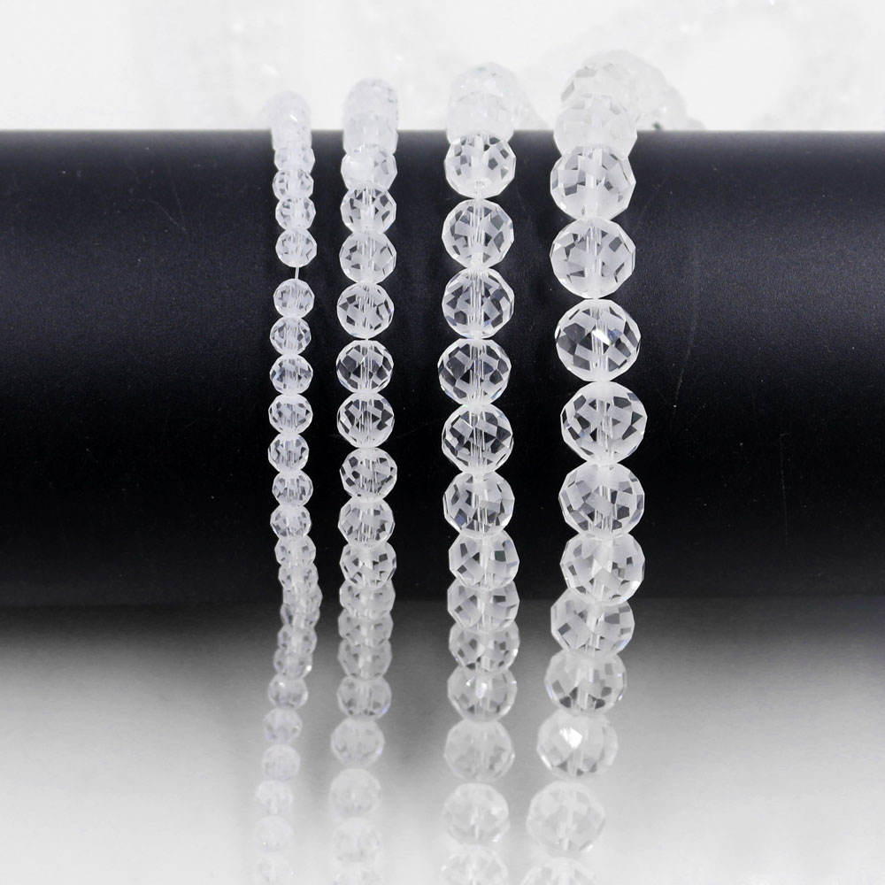 100 Pics Seed Pearl Beads Women Silver Seeds Acrylic Party Jewelry Loose 6mm
