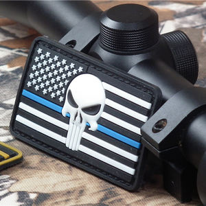 Commercio all'ingrosso Tactical PVC Morbido In Gomma Distintivi 3D Navy Seals PVC Patch di Gancio e Anello Cuce Sul Patch Personalizzata