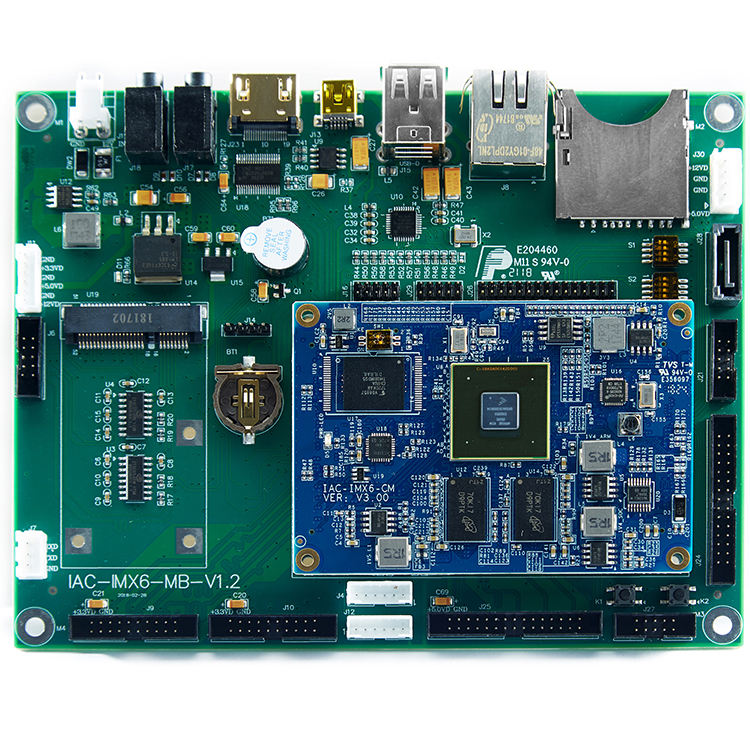 Anpassen des I.mx6 ARM <span class=keywords><strong>A9</strong></span> <span class=keywords><strong>Quad-Core</strong></span>-IoT-Motherboards mit 3-Kanal-Ethernet