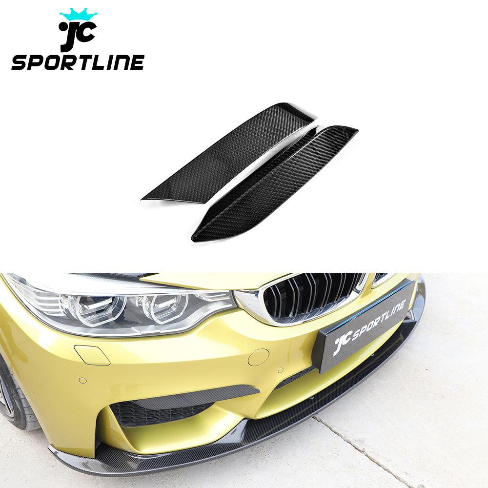 CARBON Paint FRONT SPOILER FRONT splitter per VW Scirocco Van Diffusore Spoiler