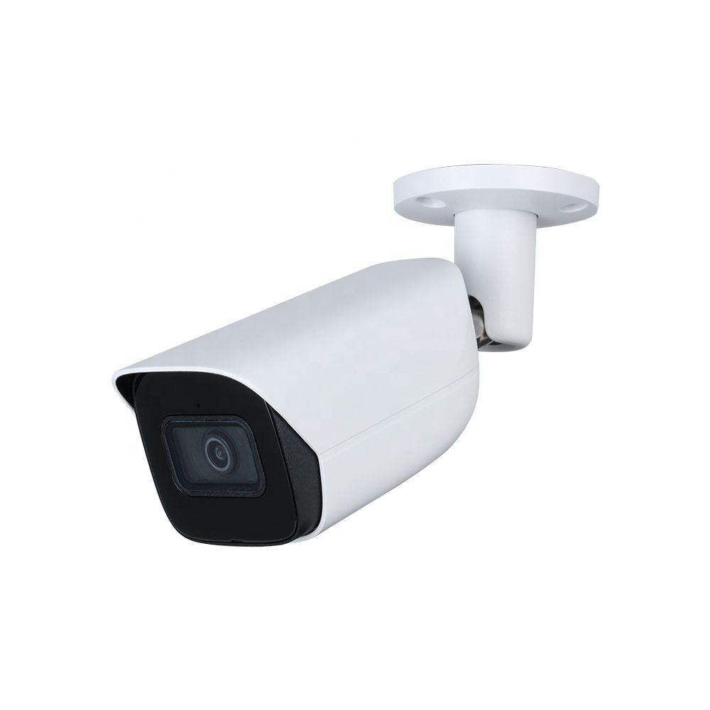 Instock 8MP WDR IR Mini Bullet Network Audio Alarm PoE security camera system built-in Mic 8 megapixel 4k ip camera