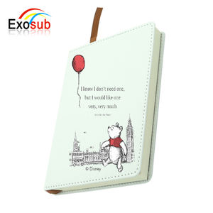 Blank leather cover notebook journal for sublimation