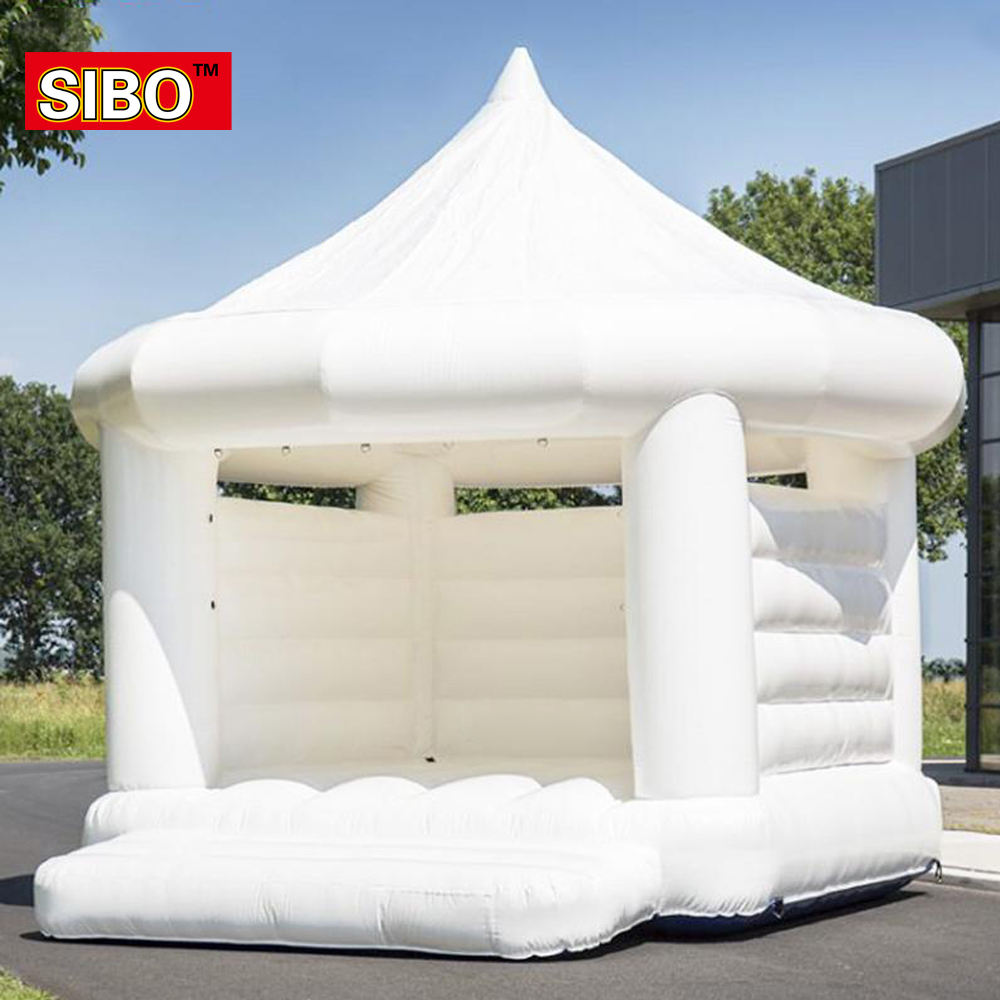 Wedding inflatable cheap children bouncy castle trampoline inflatable jumping bouncy castle bounce house