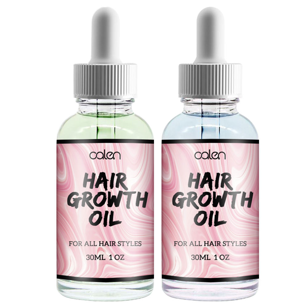 Wholesale Private label Organic Blueberry Apple Hair Growth Oil For All Hair Types 30ml