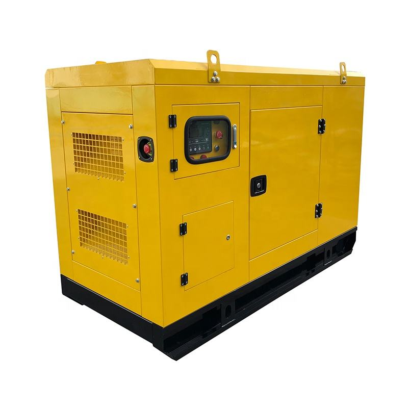 Powered by Perkins diesel generator 20kw 25kva silent 404D-22G price list with AMF ATS