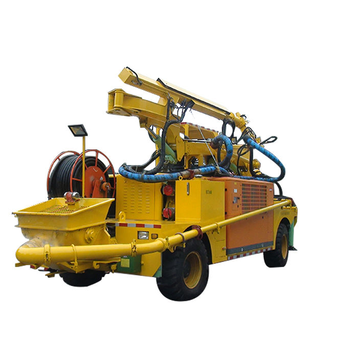 Remote Control Putzmeister Similar Product Concrete Shotcrete Robot with good price for sale