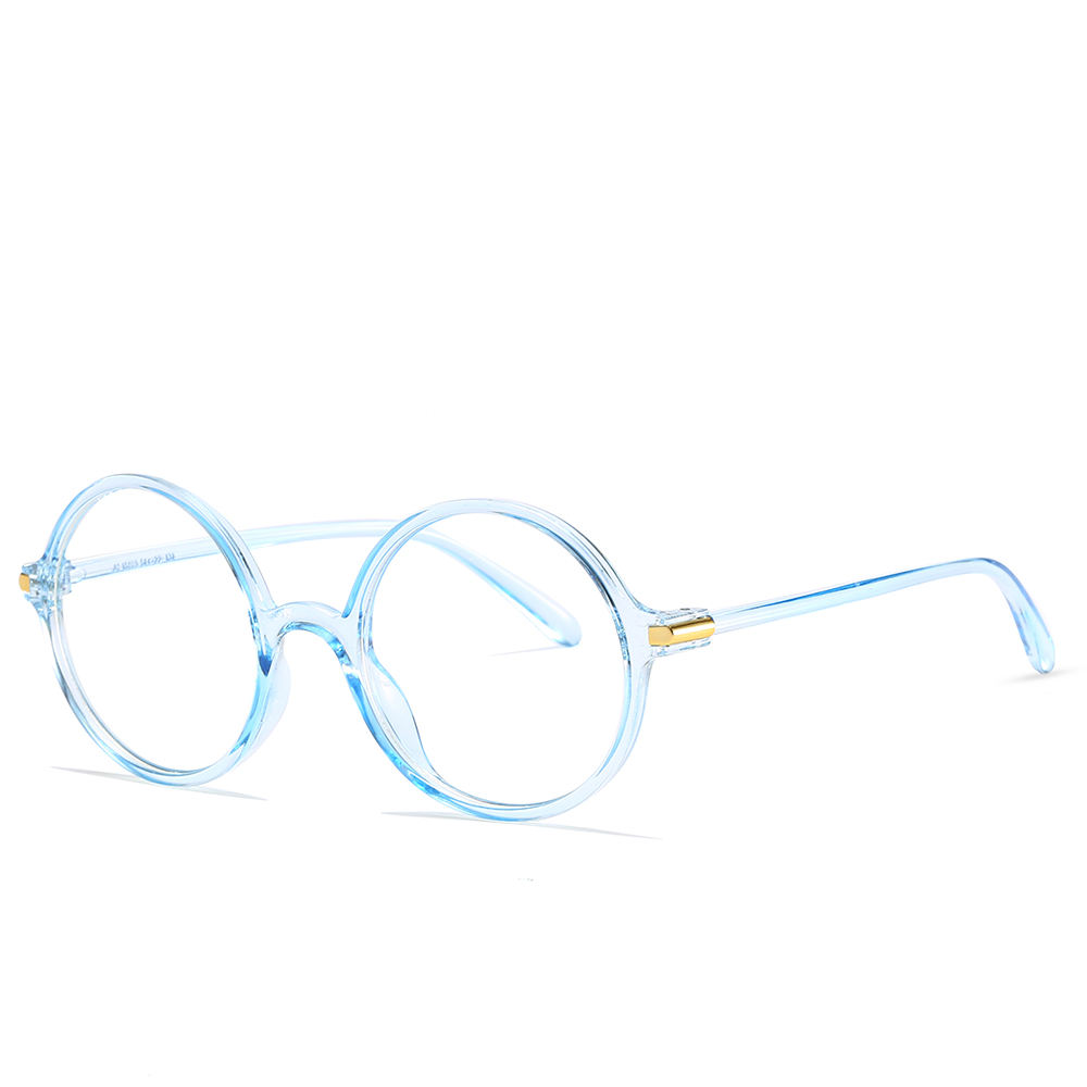 New fashion series pc glasses frame men and women round wholesale optical frame