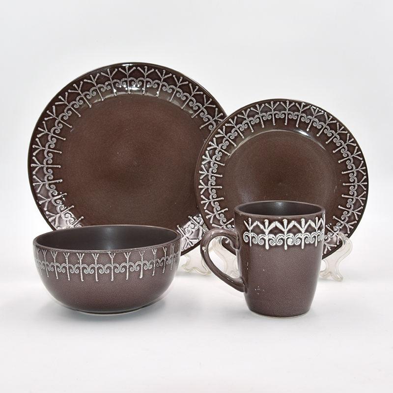 2020 nuevo diseño <span class=keywords><strong>vajilla</strong></span> china <span class=keywords><strong>vajilla</strong></span> desayuno maravilloso desarrollo de cerámica de gres de utensilios de cocina conjunto