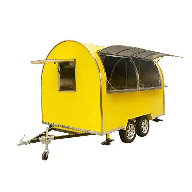 roof top dining food cart Highly Catering Mobile Food Cart churro Double Decker Price Used bread Food Carts For Sale Trolley