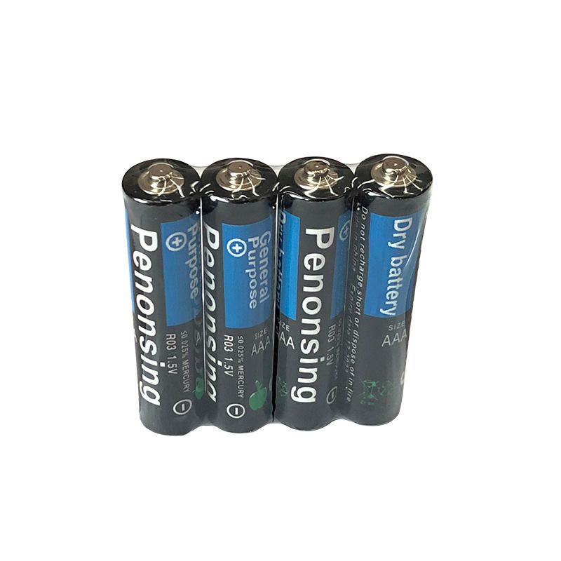 Environmentally Friendly Size R03 1.5v aaa Dry Batteries Cell