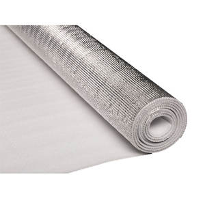 Aluminum foil backed epe foam thermal resistant insulation for cavity