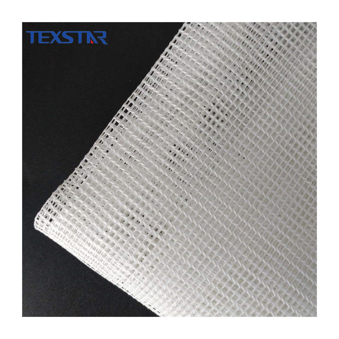 100% polyester heavy square net fabric for embroidery