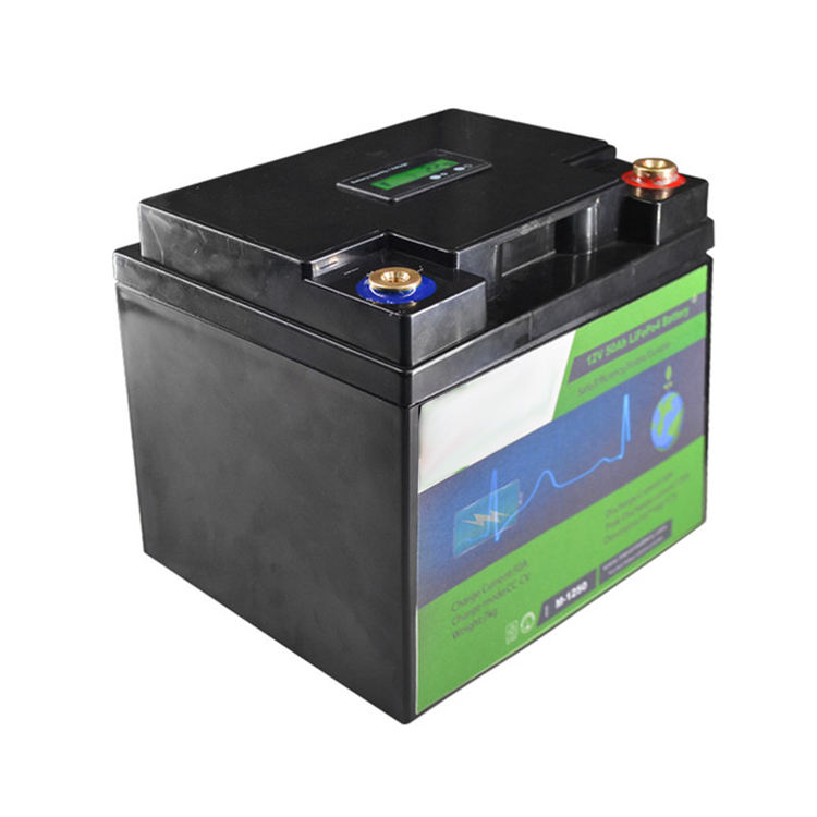 Deep cycle lifepo4 battery 12v 80ah with LCD