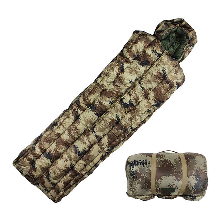2020 Extreme Cold Weather Military Tactical Hunting Multicam Camouflage Sleeping Bag For Army