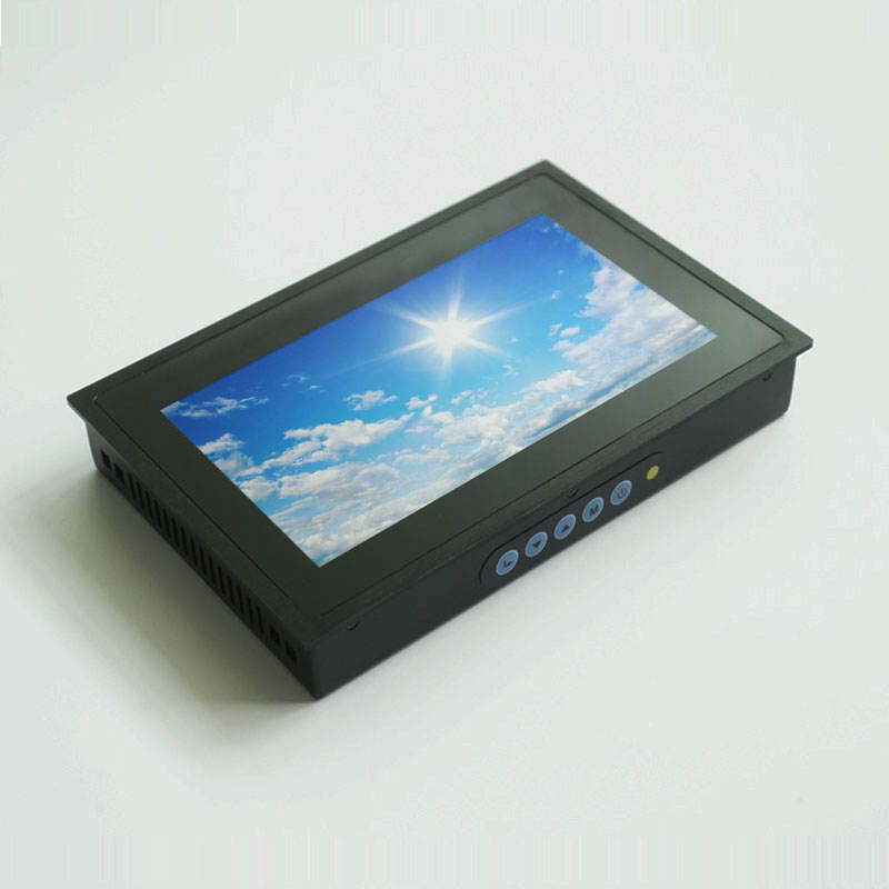 1000 nits outdoor monitor zonlicht leesbaar 7 inch hmi touch screen voor plc